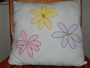 front pillow